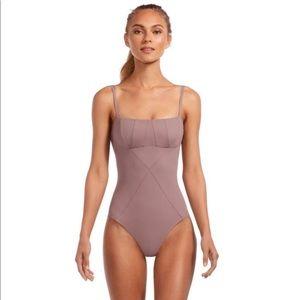 Vitamin A Gaia bodysuit lavender XS/4 NWT